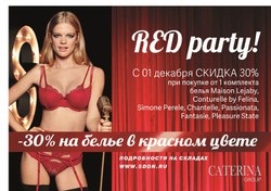 RED party!